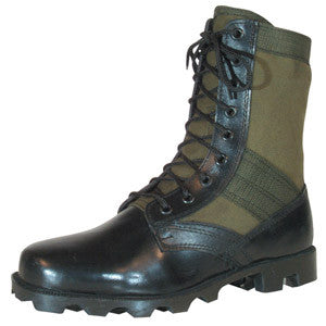 "Olive Drab GI Type Jungle Boot 8"" - Indy Army Navy"