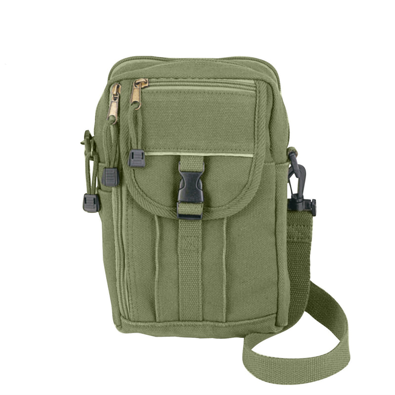 Heavy Weight Classic Passport Travel Pouch Olive Drab
