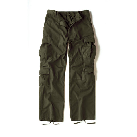 Vintage Paratrooper Fatigue Pants Olive Drab