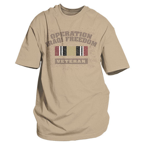Operation Iraqi Freedom T-Shirt Sand