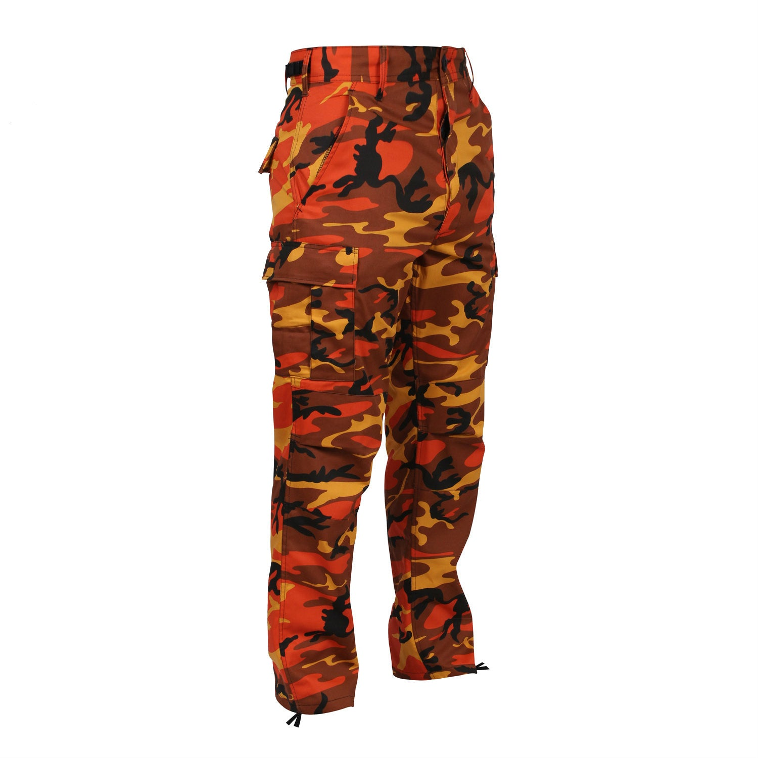 Orange Camouflage BDU Pants