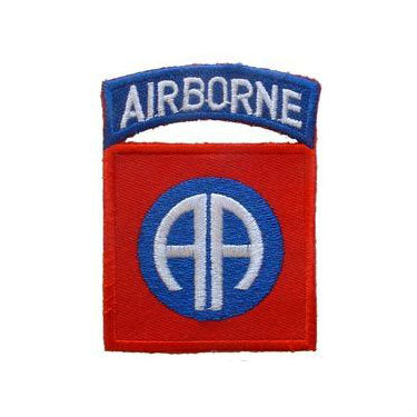 82nd Airborne Division Patch Full Color