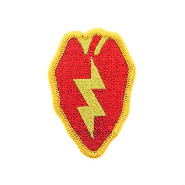 25th infantry Division Patch Full Color - Indy Army Navy