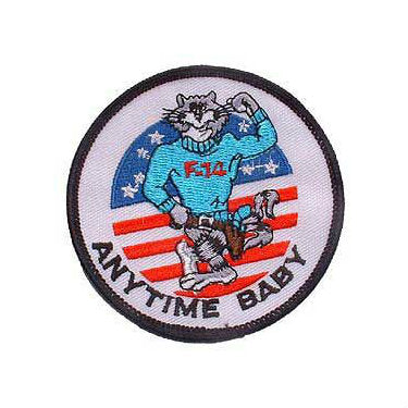 US Navy Tomcat Anytime Baby Patch