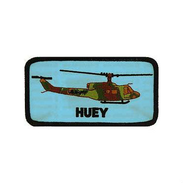 Huey Helicopter Patch