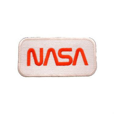 NASA Patch Red / White - Indy Army Navy