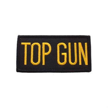 Top Gun Patch Gold / Black