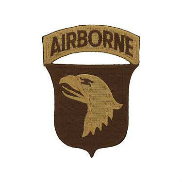 101st Airborne Division Patch Desert - Indy Army Navy
