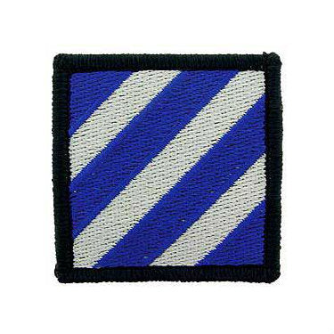 3rd Infantry Division Patch Full Color - Indy Army Navy