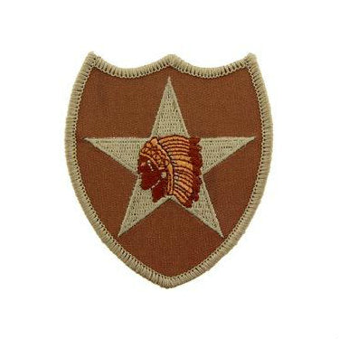 2nd Infantry Division Patch Desert - Indy Army Navy