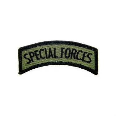 Special Forces Tab Patch Subdued