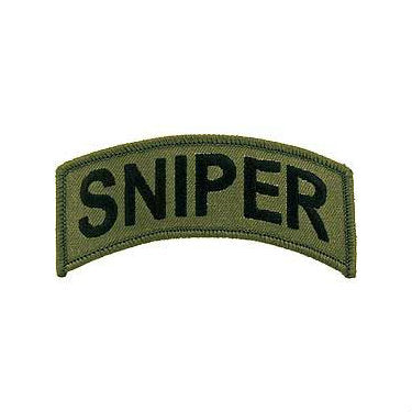 Sniper Tab Patch Subdued