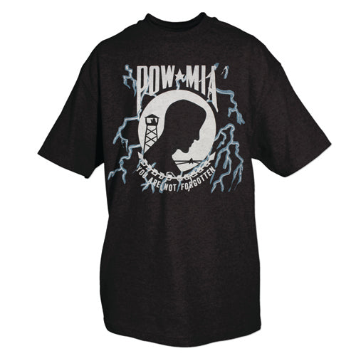 POW / MIA Not Forgotten T-Shirt Black