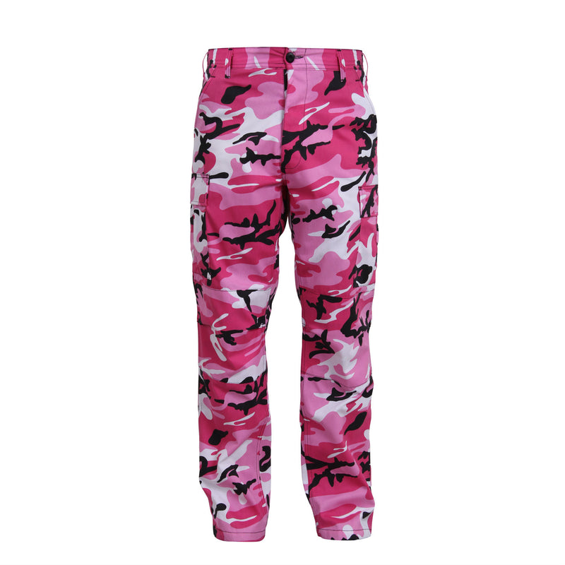 Pink Camouflage BDU Pants