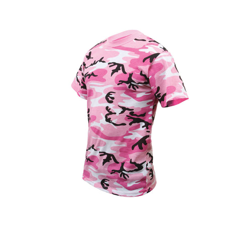 Kid's Pink Camouflage T-Shirt