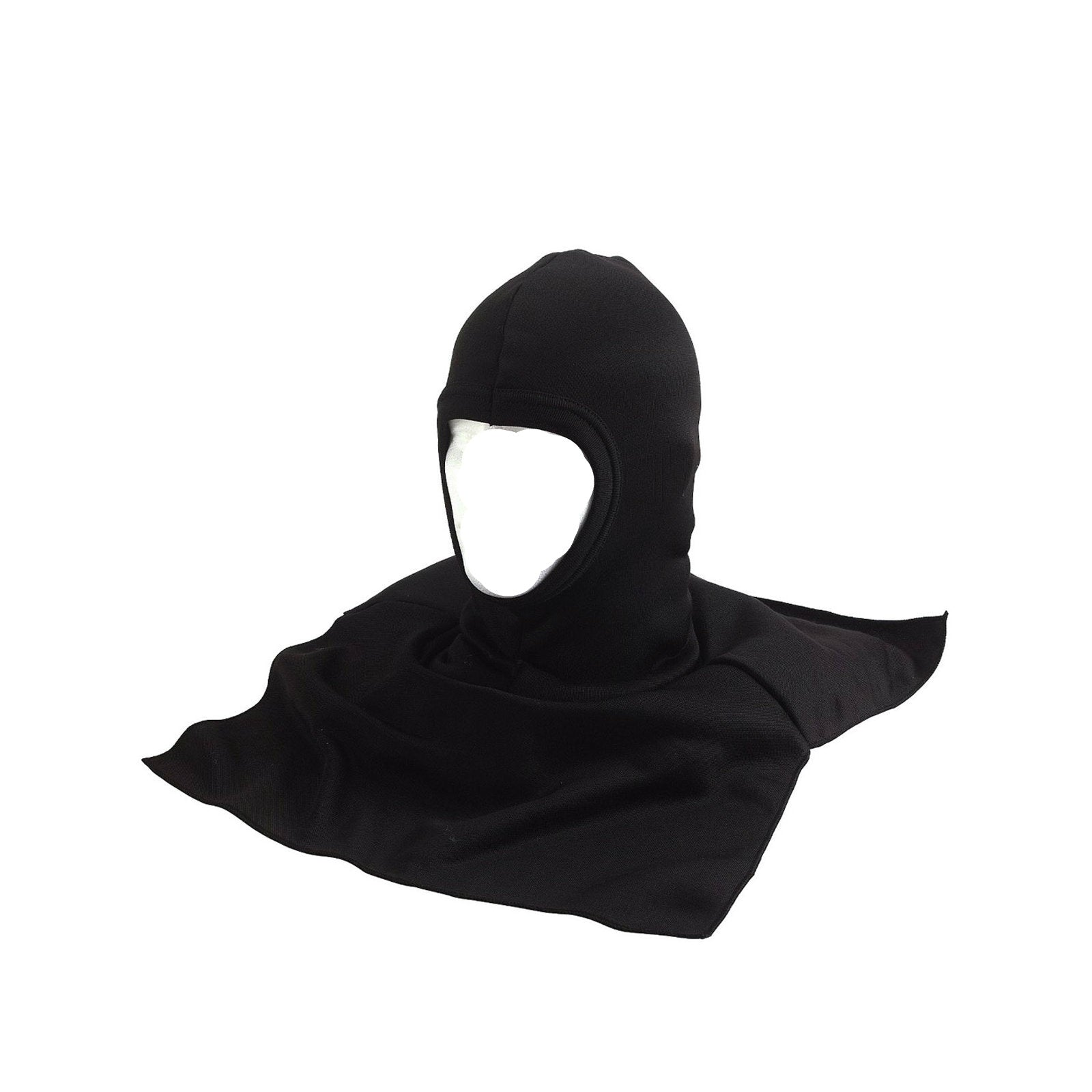 Polyester Balaclava With Dickie Black