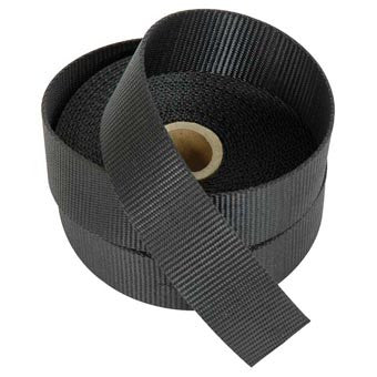 "1 1/2""  Polypropylene Webbing Per Foot Black - Indy Army Navy"