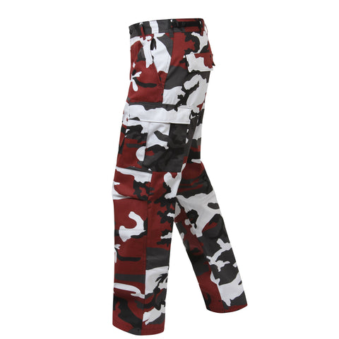 Red Camouflage BDU Pants