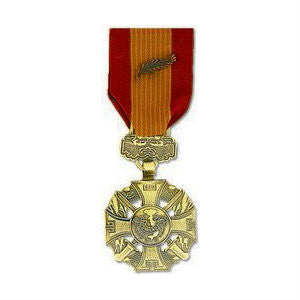 Republic of Vietnam Gallantry Cross Medal Anodized