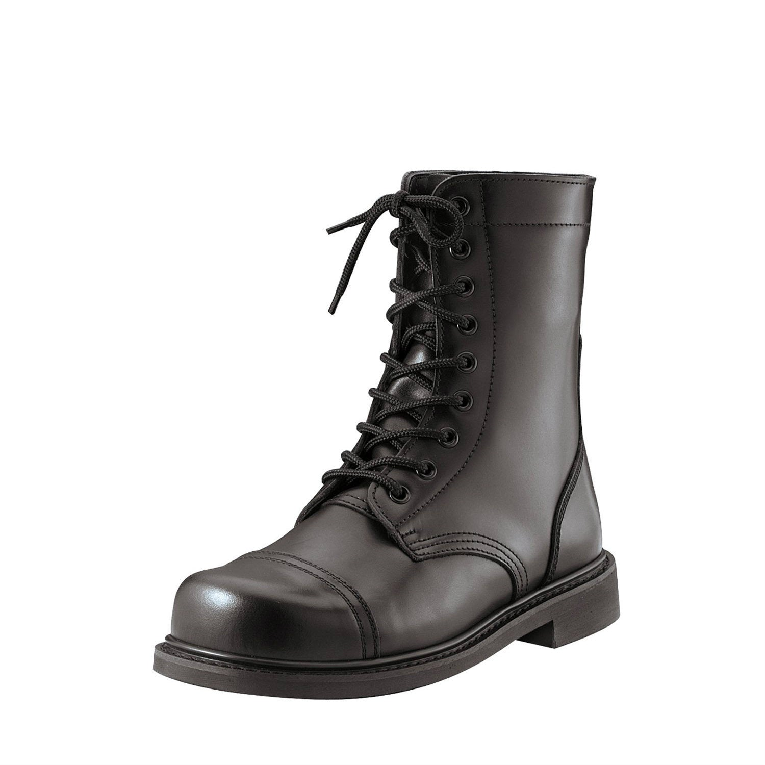 GI Type Combat Boot Black