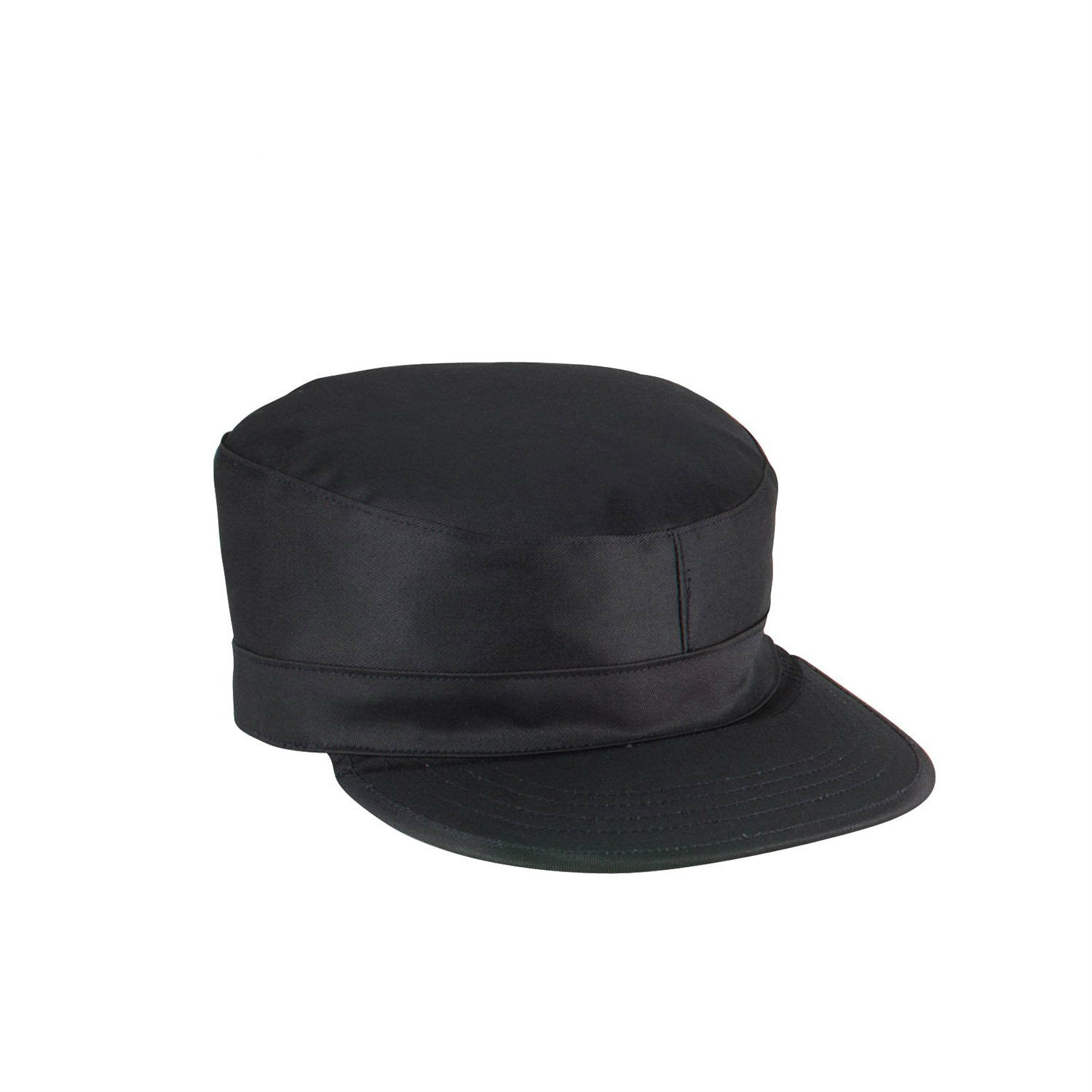 2 Ply Ranger Patrol Hat Black - Indy Army Navy