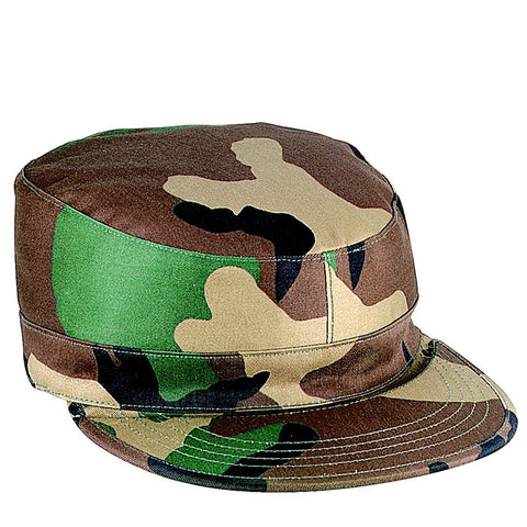 2 Ply Rip Stop Army Ranger Fatigue Hat With Map Pocket