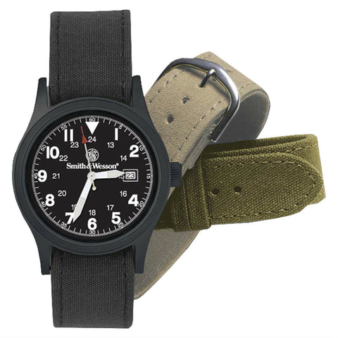 Smith & Wesson Military Watch Exchangeable Band