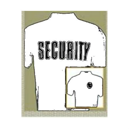 Security Badge T-Shirt White