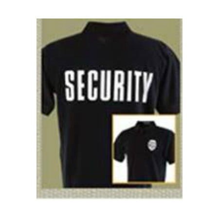 Security Badge T-Shirt Black