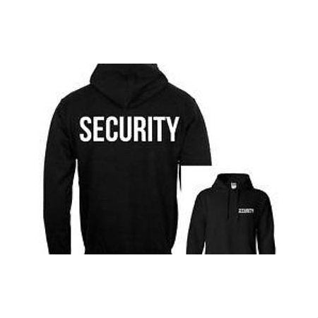 Security Hoodie Black