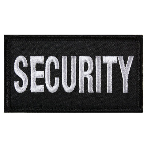Security Hook Back Patch Black / Silver (Fits Operator Hats)