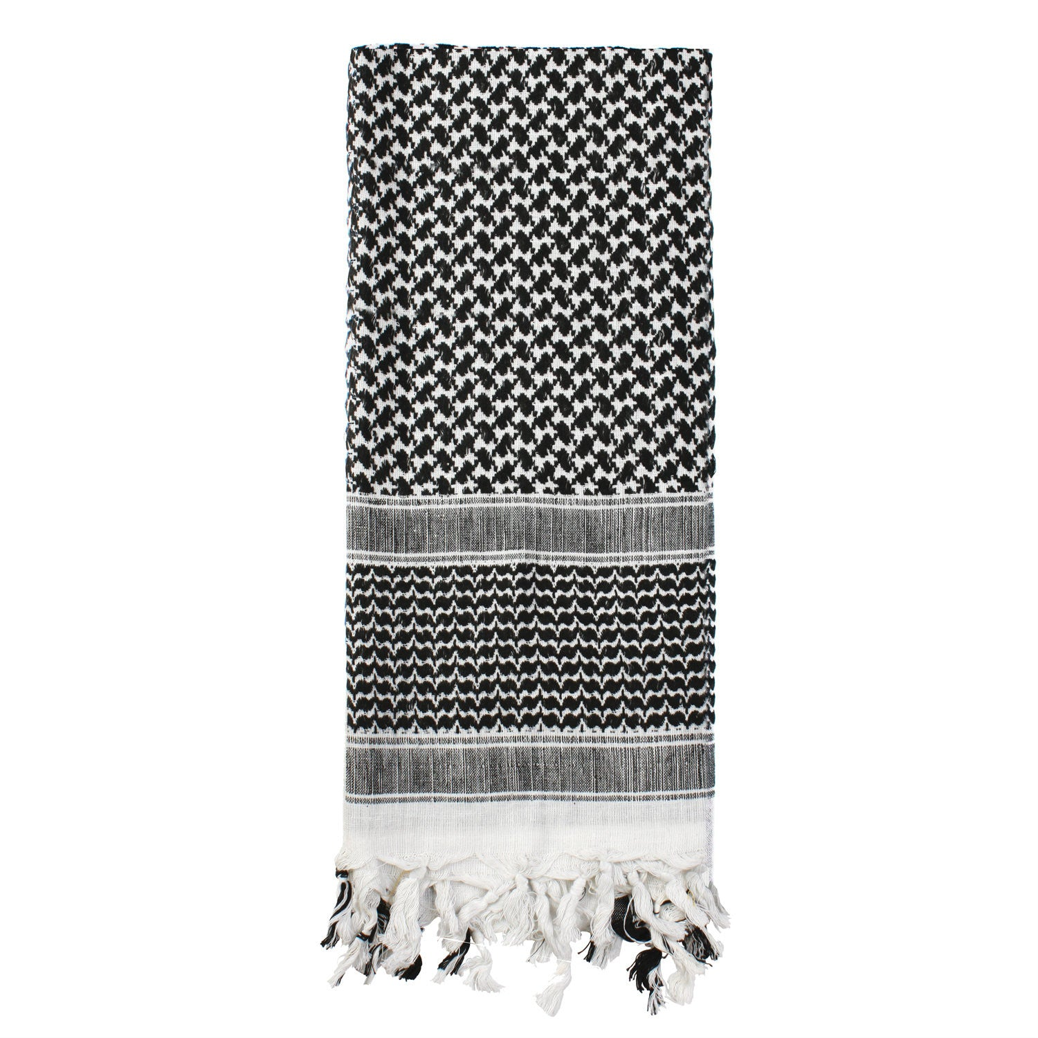 Shemagh Tactical Desert Scarf Black / White