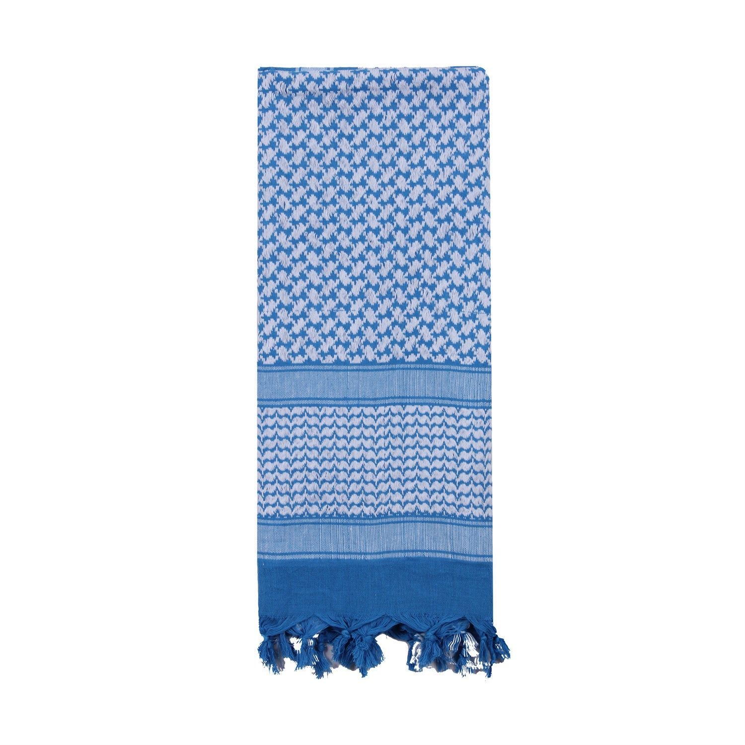 Shemagh Tactical Desert Scarf Blue / White