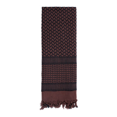 Shemagh Tactical Desert Scarf Brown / Black