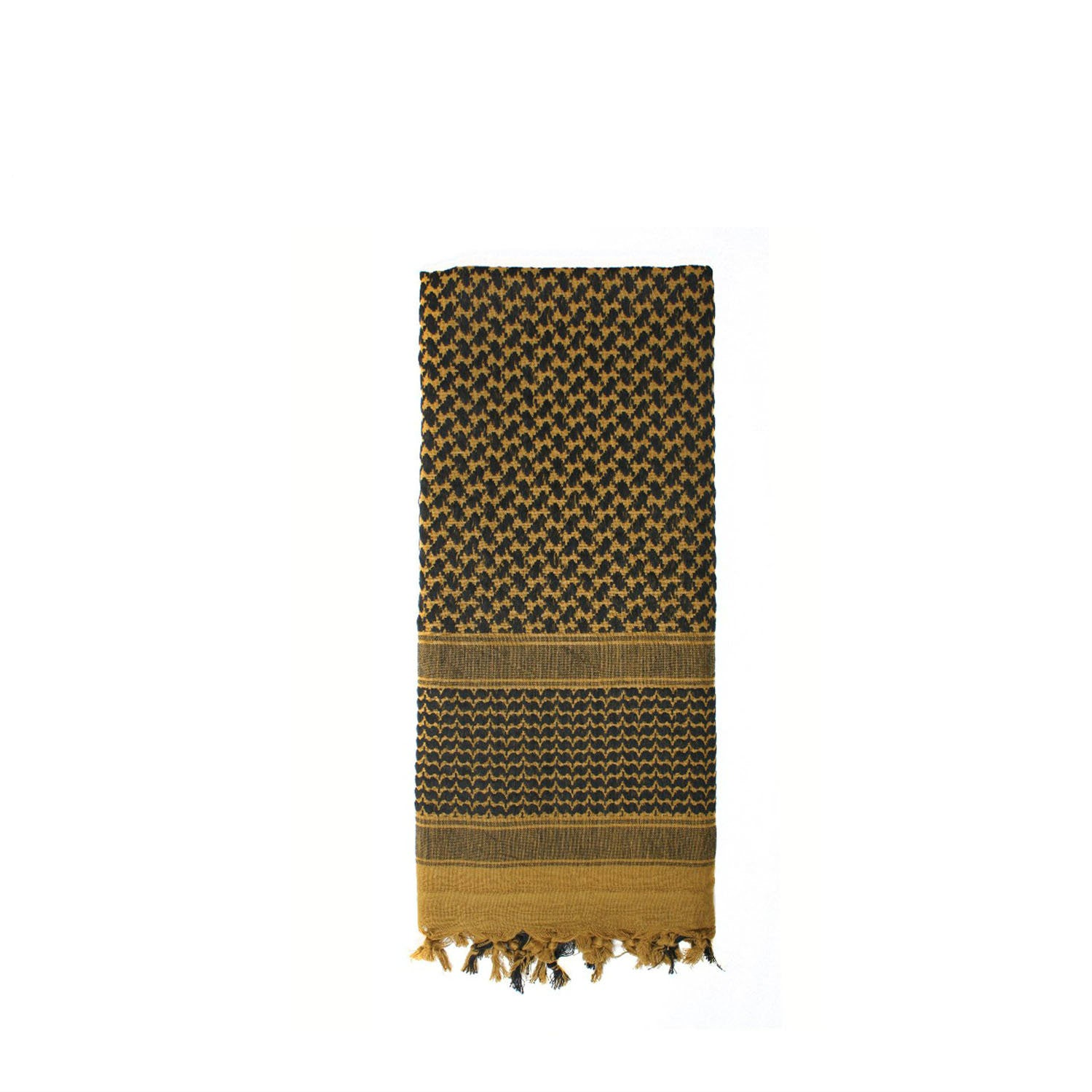 Shemagh Tactical Desert Scarf Coyote / Black