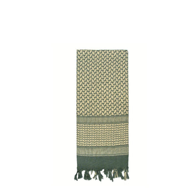 Shemagh Tactical Desert Scarf Foliage Green / Tan