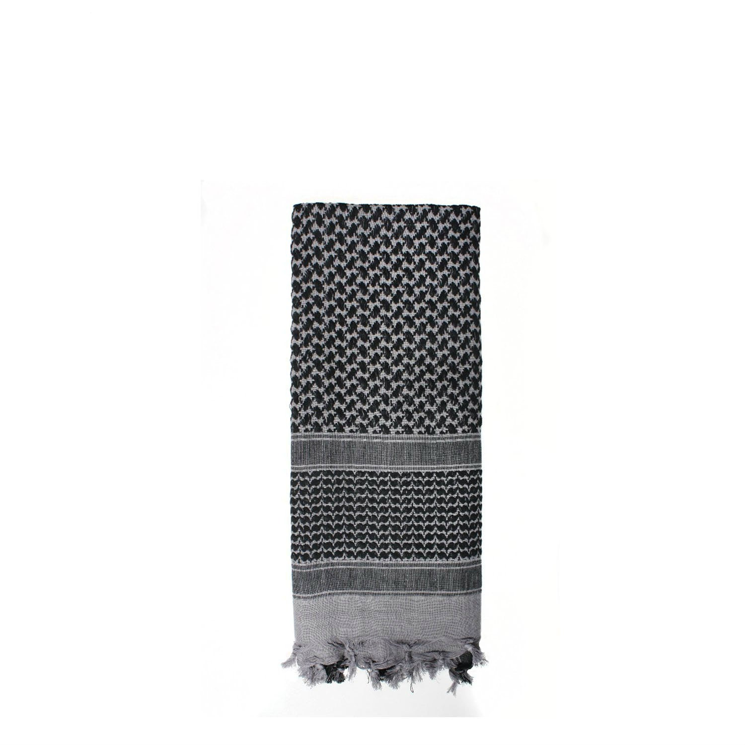 Shemagh Tactical Desert Scarf Grey / Black