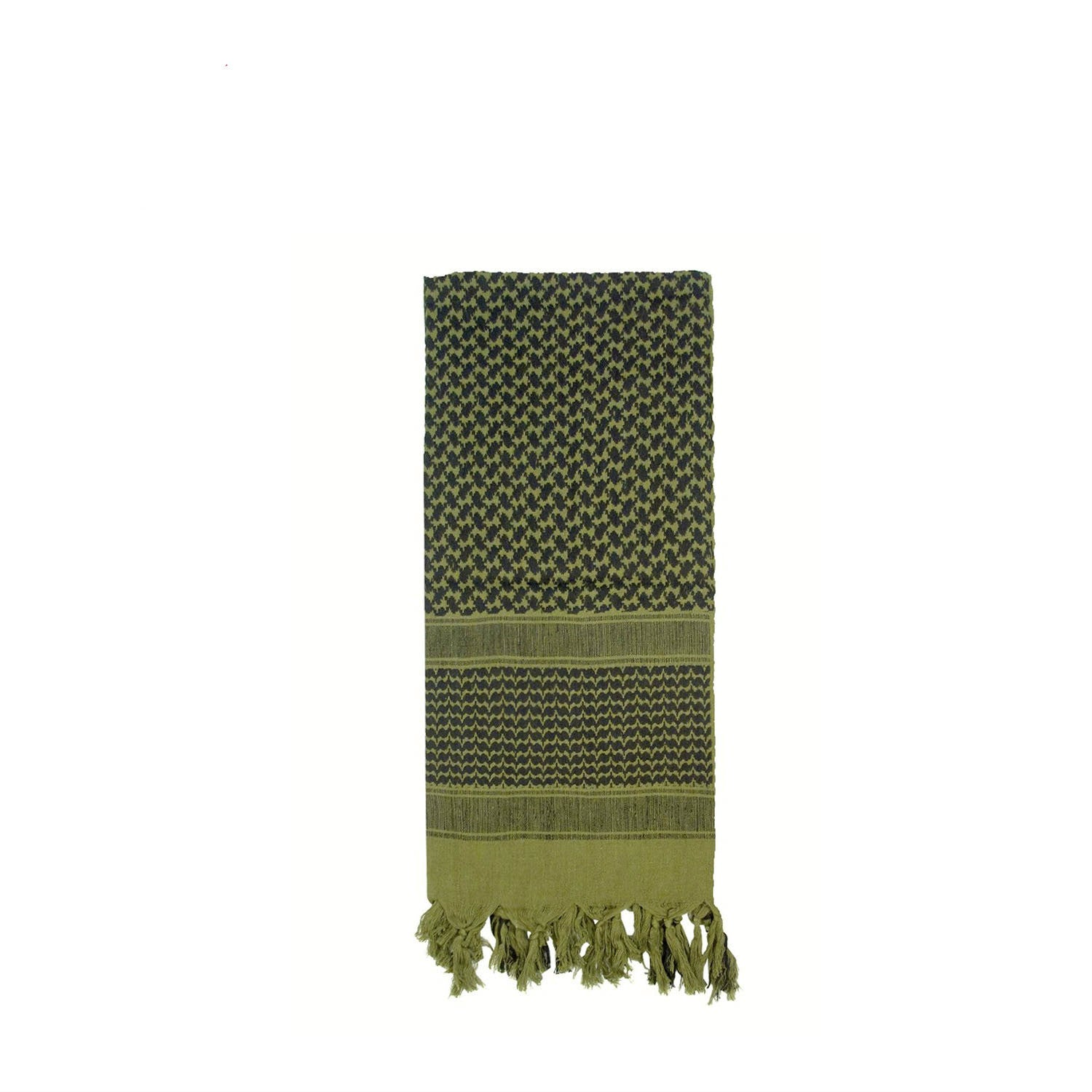 Shemagh Tactical Desert Scarf Olive Drab / Black
