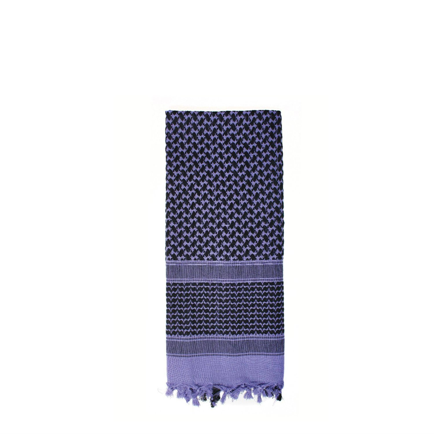 Shemagh Tactical Desert Scarf Purple / Black