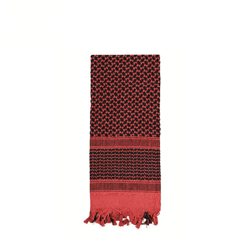 Shemagh Tactical Desert Scarf Red / Black