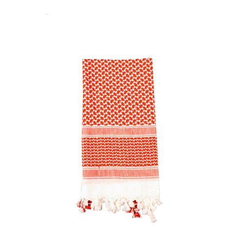 Shemagh Tactical Desert Scarf Red / White