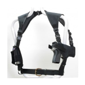Shoulder Holster WIth Magazine Pouch Full Size H&K / Hipoint 40, Hipoint 45, HK-USP Ambidextrous