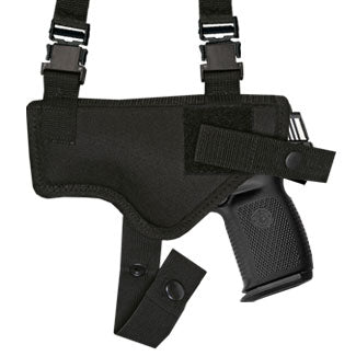 "Shoulder Holster With Magazine Pouch Full Size Glocks, Rugers, S&W, Sigs Autos with 4"" Barrels Ambidextrous"