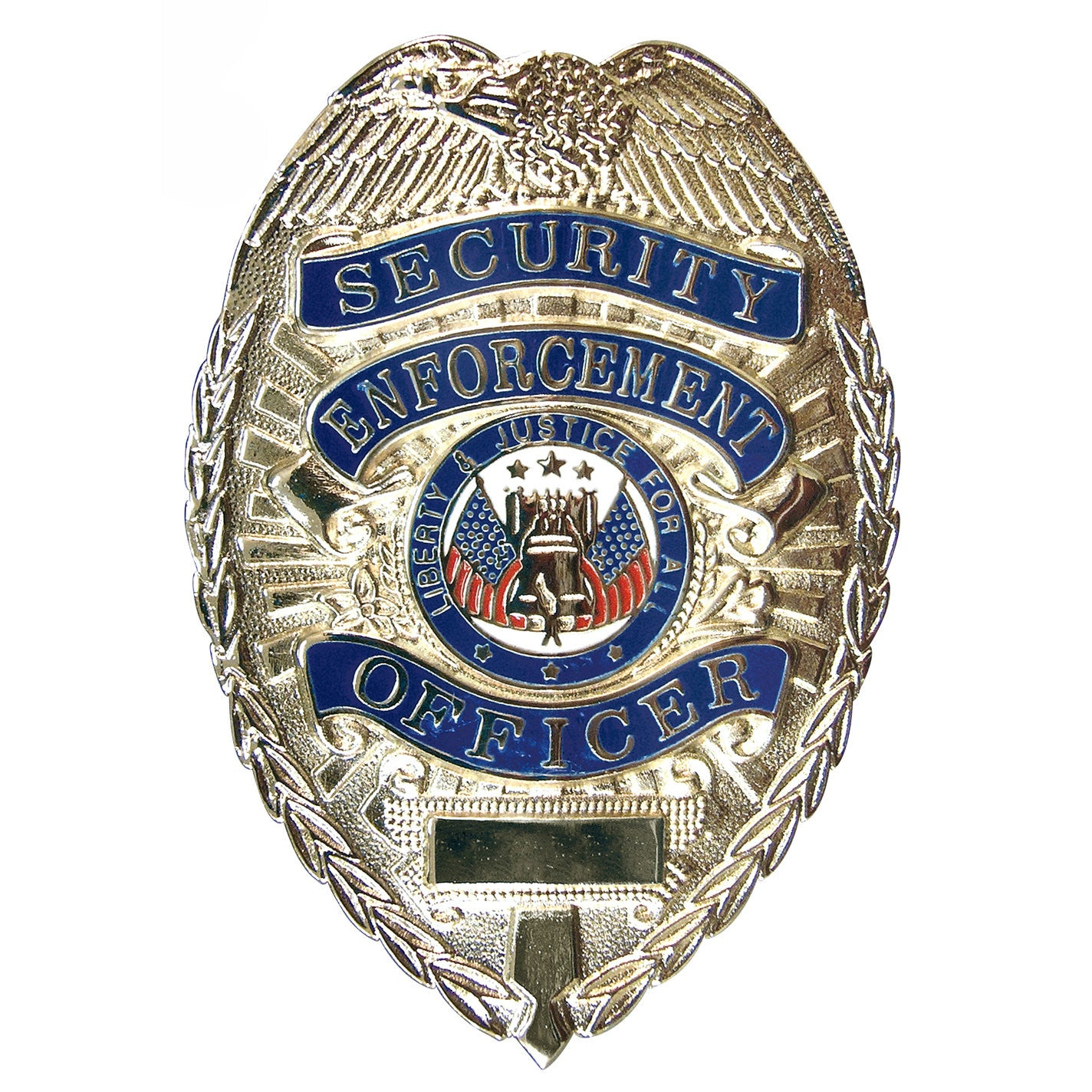 Deluxe Security Enforcement Badge Silver