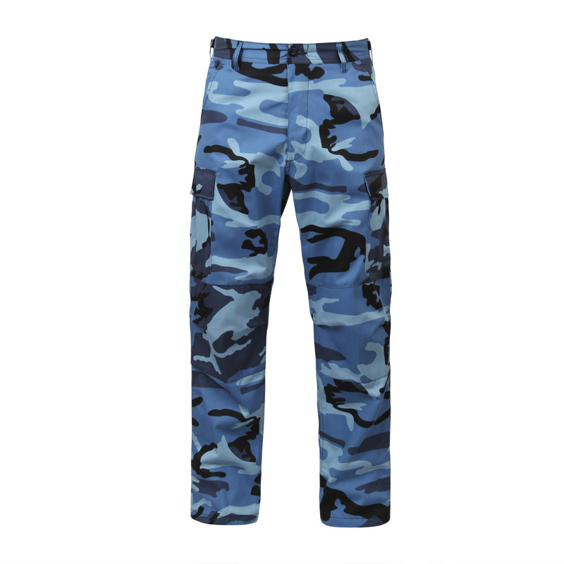 Sky Blue Camouflage BDU Pants - Indy Army Navy