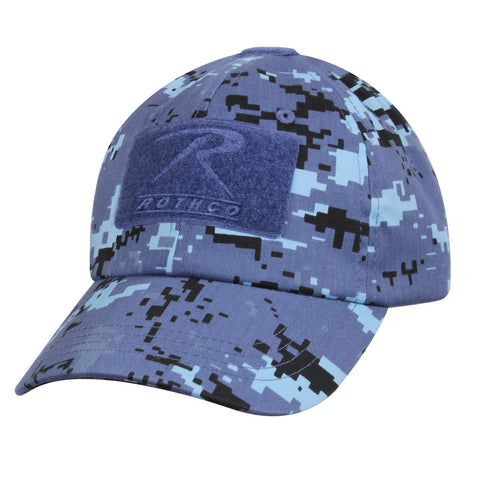 Sky Blue Digital Camouflage Operator Hat