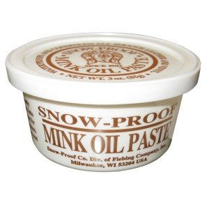Fiebings Snow-Proof Mink Oil Waterproofing Paste 3 oz.