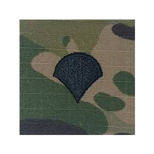 Army Specialist OCP Hook & Loop Rank