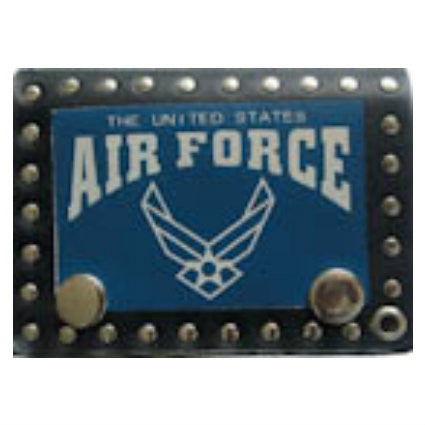 US Air Force Leather Tri Fold Wallet