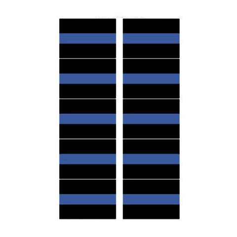 Thin Blue Line Mini Sticker Pack